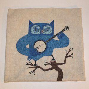 Owl Throw Pillow Cover